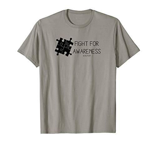 Autism Fight For Awareness Puzzle Piece Amor Camiseta