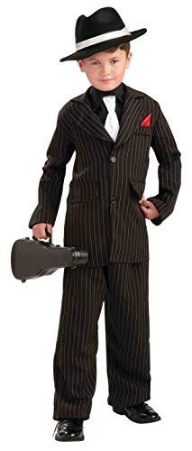 Forum Novelties Littlest Gangster Child Costume, Medium