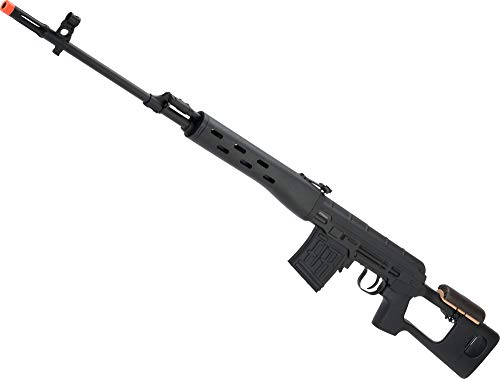 Evike A&K SVD Dragunov Realistic Cycling Action Airsoft Sniper Rifle...