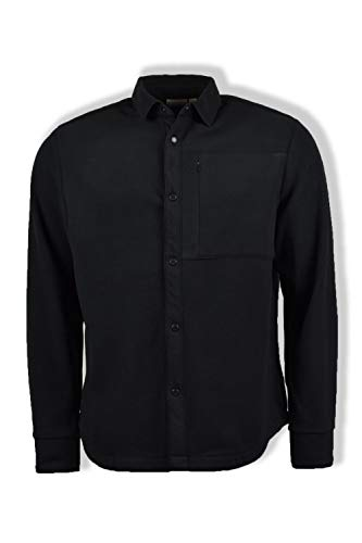 Napapijri Tael Fleece-Hemd, Schwarz Gr. XL, Schwarz