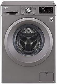 LG 7Kg 1200 RPMFront Load Washing Machine, Silver - F2J5QNP7S, 1 Year Warranty