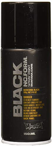 Montana BLACK Sprühdose POCKET CAN spider black - 150 ml