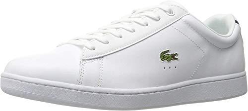 Lacoste mens Carnaby Evo Bl 1 Sneaker, White, 10.5 US