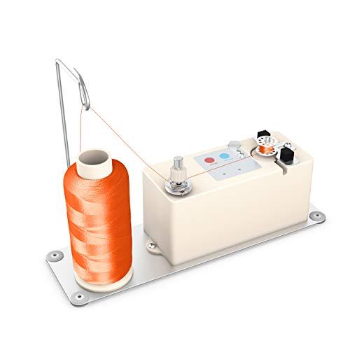 Electrical Bobbin Winder,Upgrade Automatic Winder Machine,Bobbin Class15 M L Size for Juki Brother Babylock Singer Janome Long-Arm Quilting Bobbin Winder Sewing Machine