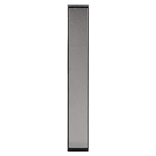 Piedra de afilar de primera calidad Piedra de afilar de grano lateral Piedra de agua Afilador de piedra de afilar Base de bambú antideslizante y guía de ángulo(#6)