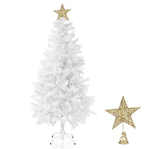 Albero di Natale, 150 cm Artificiale Albero di Natale con 400 Rami
