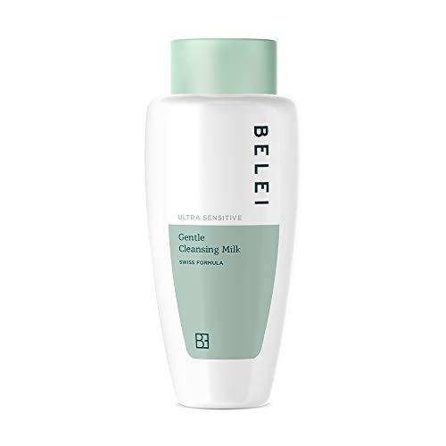 Marca Amazon - Belei Leche limpiadora suave para pieles ultr