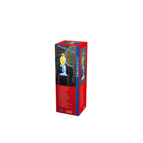 Konstsmide, 6281-203, LED Acrylpapagei, klar,24V_Außentrafo, 48 weiße Dioden, weißes Kabel