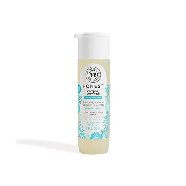The Honest Company Purely Simple Fragrance-Free Shampoo + Body Wash   Tear-Free Baby...