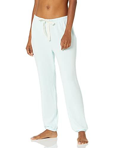 Amazon Essentials Lightweight Lounge Terry Jogger Pant Pajama-Bottoms, Turquesa pálido, US S (EU S - M)