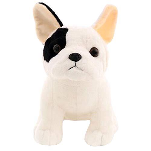 LuLezon French Bulldog Plush Toy Sitting Pose Mascot Dog Stuffed Doll for Kids Gift 8.7'…
