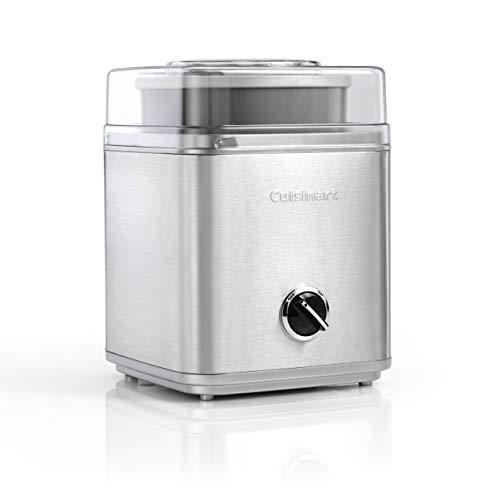 Cuisinart ICE30BCU  Ice Cream Maker - Silver (Renewed)