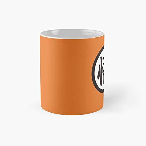 Taza clásica del logotipo de la tortuga de Goku de Dragon Ball | El mejor regalo divertido tazas de café 12 oz