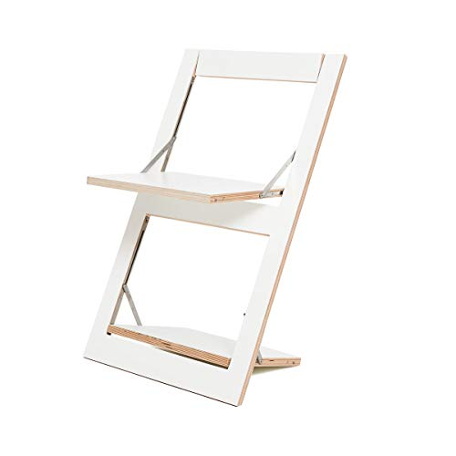 Ambivalenz - Klappstuhl - Stuhl - FLÄPPS - Holz - Birke - Weiß