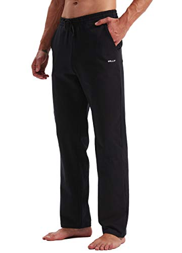 Willit Men's Workout Pants with Pockets