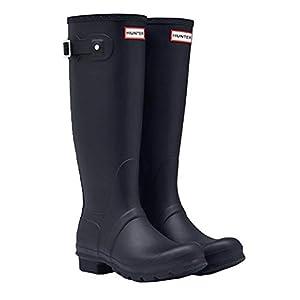 [ハンター] レインブーツ 長靴 ブーツ レディース WOMENS ORIGINAL TALL BOOT WFT1000RMA {ネイビー UK6-25.0cm}(hnt002) [並行輸入品]