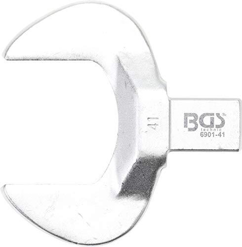 BGS 6901-41 | Einsteck-Maulschlüssel | 41 mm | Aufnahme 14 x 18 mm