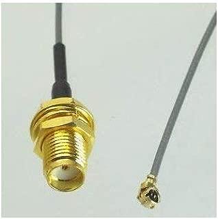 2pcs IPEX U.fl/IPEX to SMA Female (hole) Pigtail 30cm for Mini PCIe Wifi MHF1 MHFI (Hirose U.FL 0.81mm)