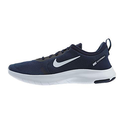 Nike Herren Flex Experience Run 8, Midnight Navy/White/Monsoon Blue, 48 EU