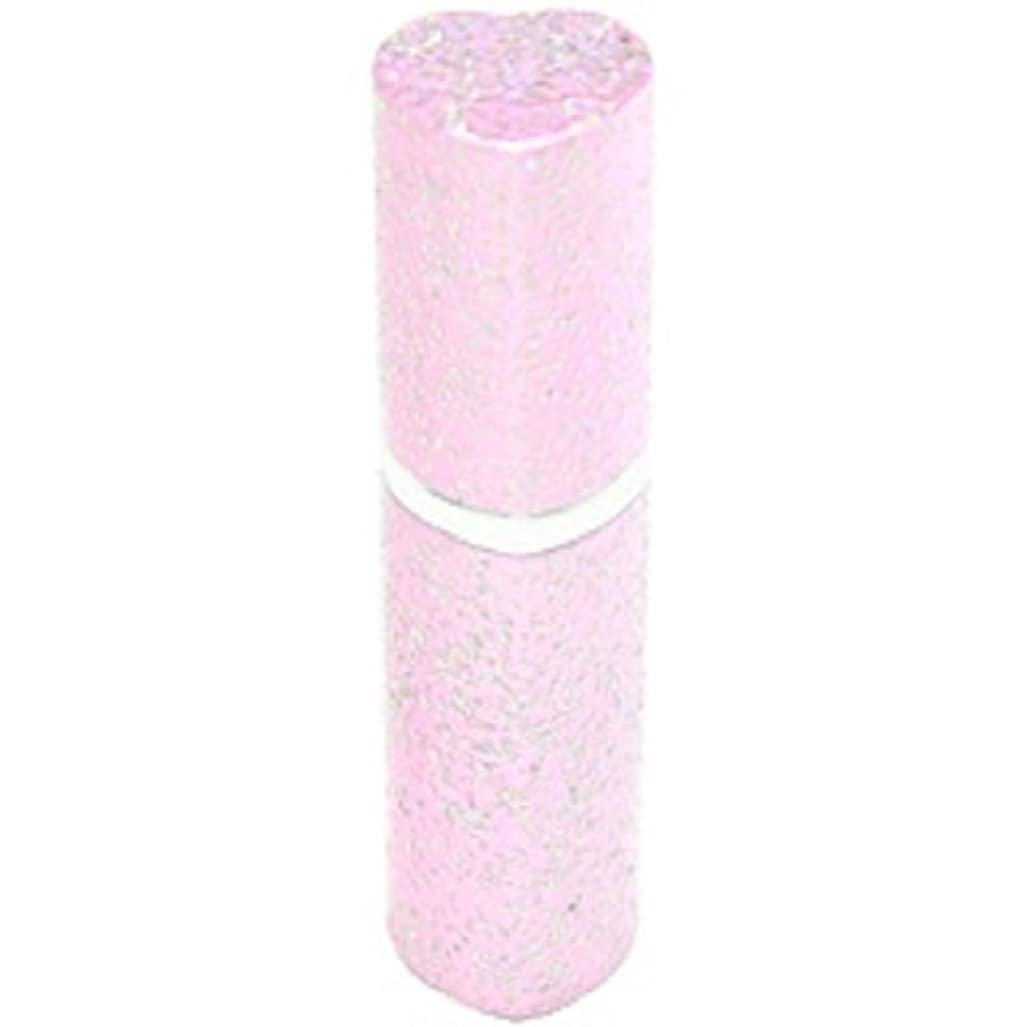 努力する回る貸し手アトマイザー ラメハート ピンク 3ml 香水入れ