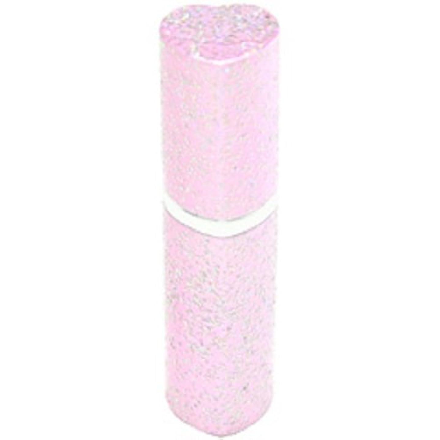アトマイザー ラメハート ピンク 3ml 香水入れ