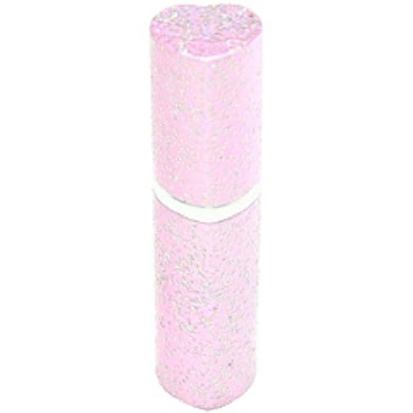 創傷手術エネルギーアトマイザー ラメハート ピンク 3ml 香水入れ