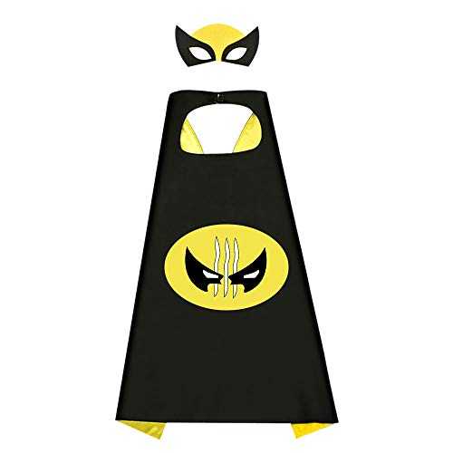 EASONY Superhero Capes for Girls, Superhero Party Favors Set for Kids Superhero Toys for Girls Age 3-12 Birthday for Girls Age 3-12 Superhero Party Supplies Best Gifts