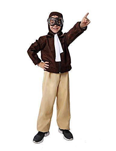 Costumizate! Disfraz de Aviador Talla 3-4 Especial para niños Fiestas de Disfraces o Carnaval