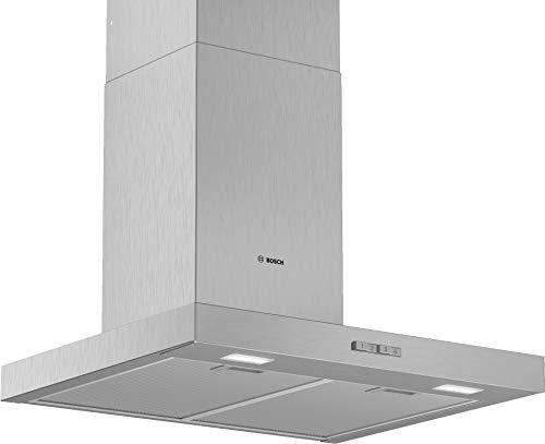 Bosch DWB66BC50 Serie 2 Wandesse / B / 60 cm / Edelstahl / wahlweise Umluft- oder Abluftbetrieb / DirectSelect Bedienung / Intensivstufe / Metallfettfilter (spülmaschinengeeignet)