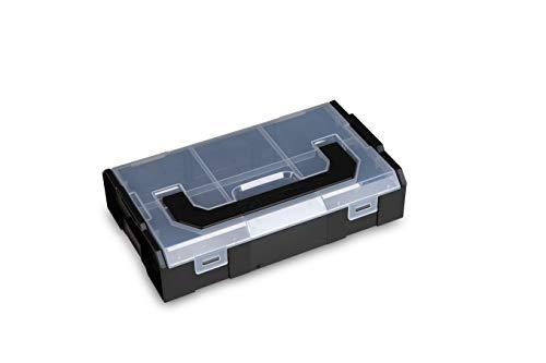 Bosch Sortimo L BOXX Mini Nero   Coperchio trasparente   Contenitore ideale   Contenitore per il pane   Contenitore per piccoli oggetti in alternativa all'originale