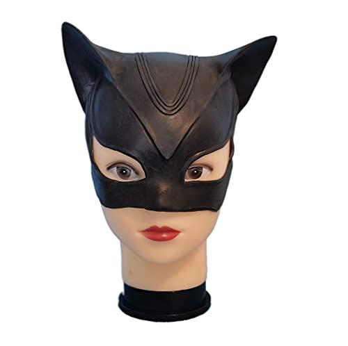 Catwoman Mulher-Gato Máscara Festa Partido Cosplay Látex para Mulher