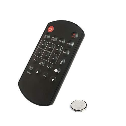 Control Remoto para Panasonic SC-HTB8 SC-HTB170 SU-HTB20 SC-HTB20 N2QAYC000063 N2QAYC000064 N2QAYC000084 Barra de Sonido Mando a Distancia, Altavoces Home Cinema Control Remoto de Repuesto + Batería