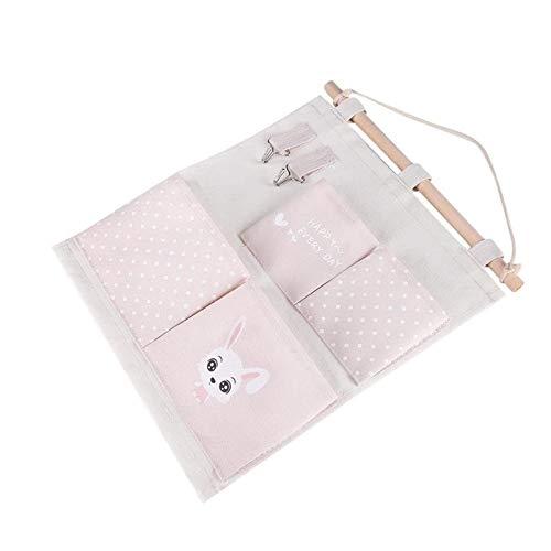 JIAHU Bolsa de almacenamiento de pared organizadora de múltiples capas para colgar bolsas de tela para puerta 1 unidad