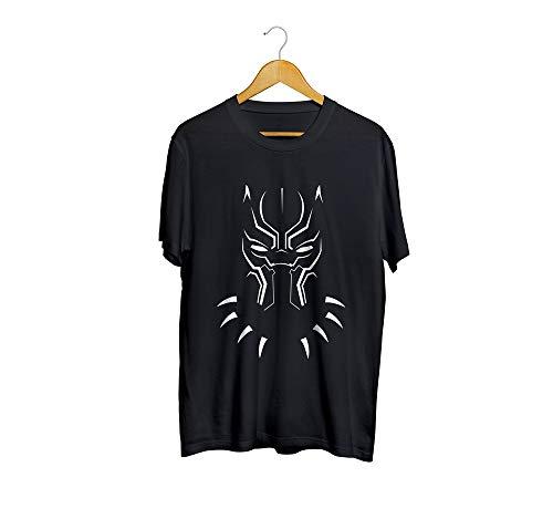 Camiseta Camisa Pantera Negra Sombra Masculino Preto Tamanho:M;Cor:Preto