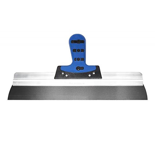 Profi-Fassadenspachtel 400mm - Softgriff - rostfreier Stahl I Alu-Rakel