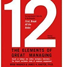 12 Elements of Great Managing [12] (An Abridged Production)[4-CD Set]