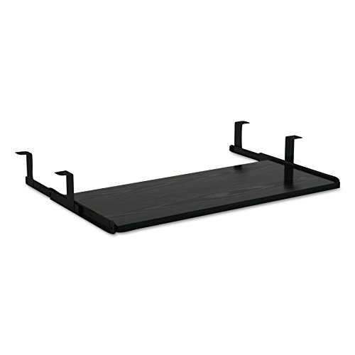 Alera ALE Valencia Series Underdesk Keyboard/Mouse Shelf, 28w x 12d, Black