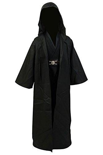 RedJade Anakin Skywalker Traje Cosplay niños Traje Uniforme Negro M