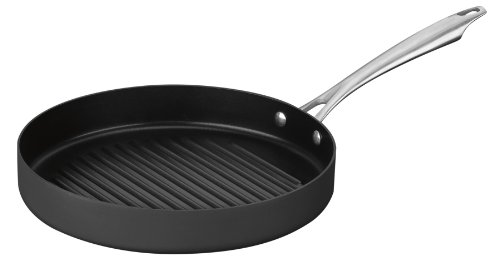 Cuisinart Dishwasher Safe Hard-Anodized 11-Inch Round Grill Pan
