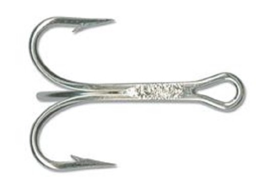 Mustad Classic 3 Extra Strong Duratin Treble Hook (Pack of 25), 7/0