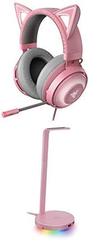 Razer Kraken Kitty RGB USB Gaming Headset THX 7 1 Spatial Surround Sound Chroma RGB Lighting product image