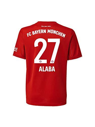 FC Bayern München Home-Trikot Saison 2020/21 Mini Kit, Gr. 116, David Alaba