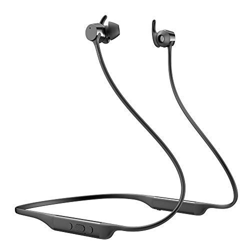 Bowers & Wilkins FP41238 Ecouteurs sans Fil PI4 à Réduction de Bruit, avec Oreillettes Intra-Auriculaires Magnétiques, Bluetooth 5.0 – Gris Espace/Noir