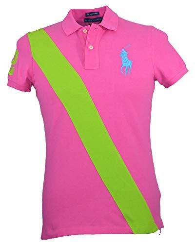 Ralph Lauren Damen Poloshirt Pink rose Gr. M, rose