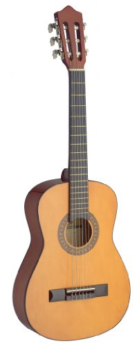 Stagg C510 1/2-Size Nylon String Classical Guitar - Natural