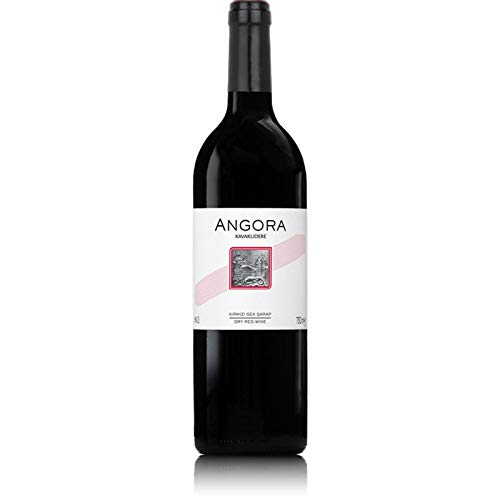 ANGORA Kirmizi (Cabernet Sauvignon/Carignan) Aegean. Trockener türkischer Rotwein