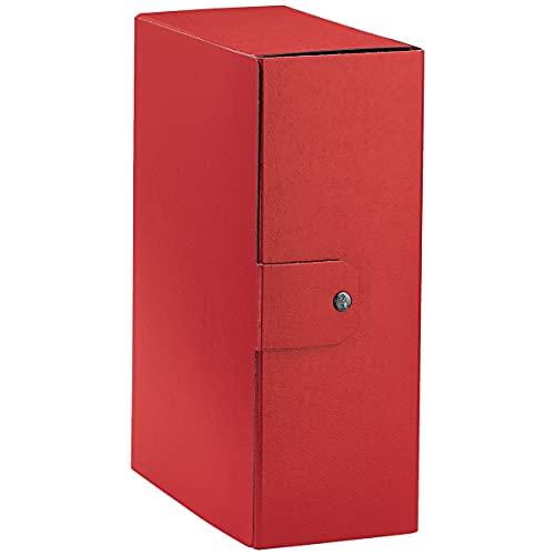 Esselte Eurobox, Cartella Progetti, Formato A4, Dorso 12 Cm, Rosso, 1 Pezzo