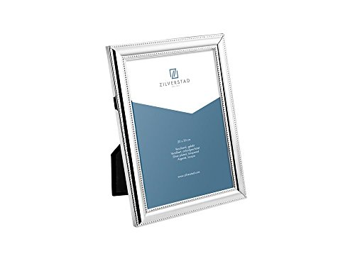 Zilverstad 6154201 - Cornice per foto Perla, lucida, argento, argento, metallo, tessuto