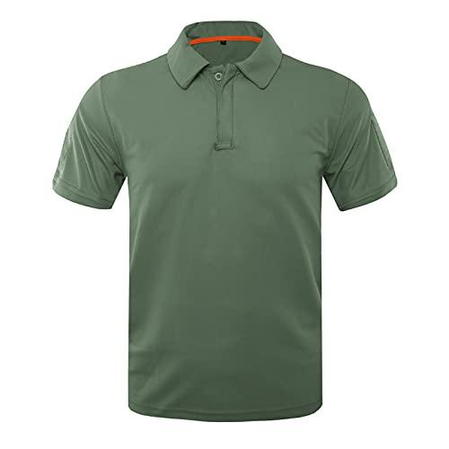 FOTBIMK Hombres Corto Suelto Tamaño Grande Camiseta Manga Corta Verano Al Aire Libre Transpirable Secado Rápido Corto Tops