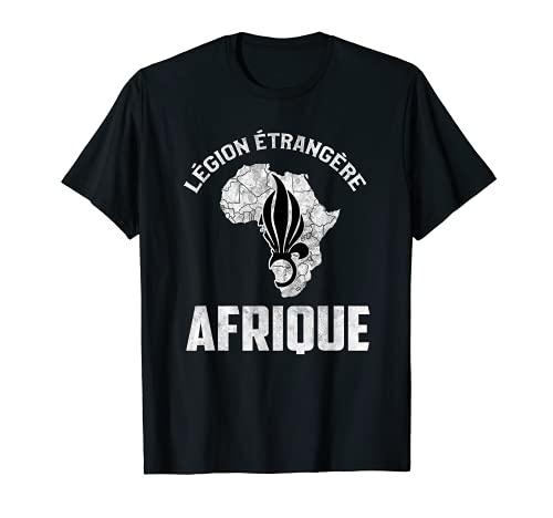 Ejército militar francés etrangere tropa diciendo diseño Camiseta